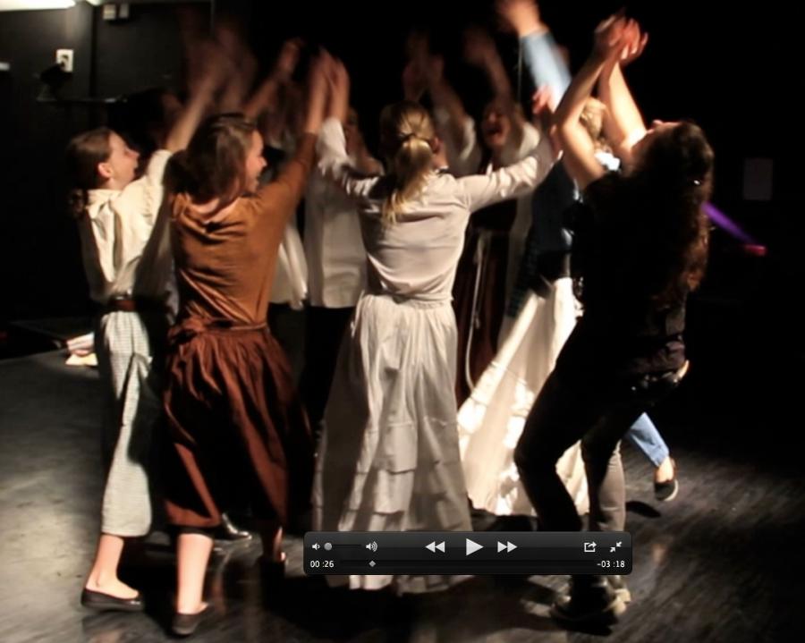 Théâtre amateur : Mise en abîme et Bistro Baudelaire